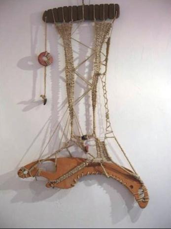 Corda – terracotta – 2004 - cm60x110