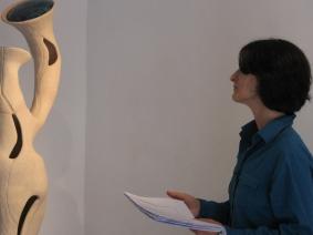 Mostra personale: Vuoti pieni Silenzi suoni Galleria Il Chiodo, Sermoneta 2010, Performance : voce poetica Simonetta Sterpetti, musica elettronica Silvia Lanzalone.