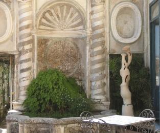 TERRA DELLE RISONANZE EVENTO – PRELUDIO musica Silvia Lanzalone - Giardino della Minerva, Salerno 2010