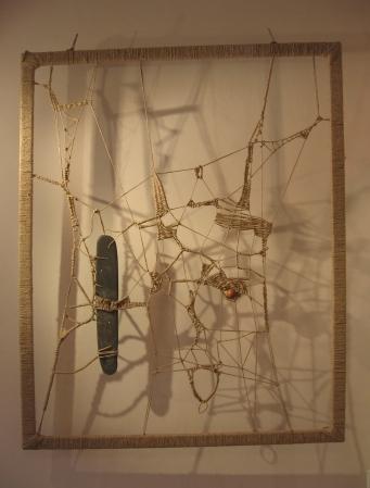 Corda – terracotta – 2008 - cm120x150