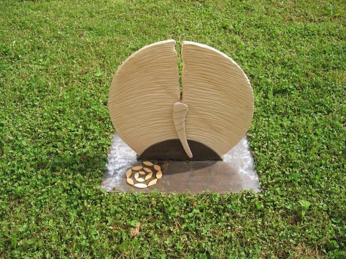 Ceramica in Fiore - 2014 terracotta, corda, ferro